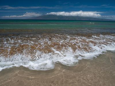 Honokowai Beach County Park along the Honoapiilani Highway in Honokowai, Maui, HI.